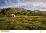 yurts-mongolian-steppe-couple-green-100085547.jpg