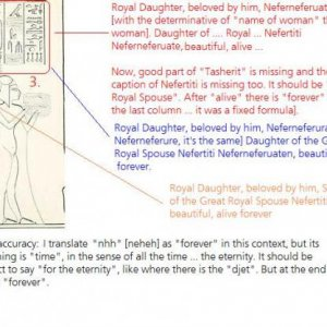 Royal Daughter Translation, Ancient Egypt Hieroglyphics