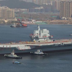 Chinese Aircraft Carrier: Type 001A