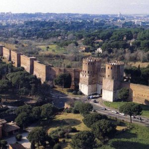 Aurelian Walls in Italy