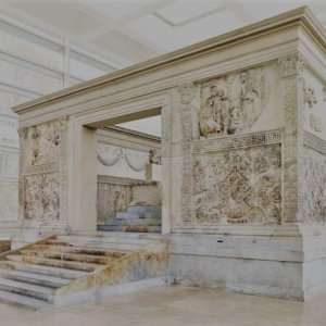 Ara Pacis - Throne of Augustus - Rome