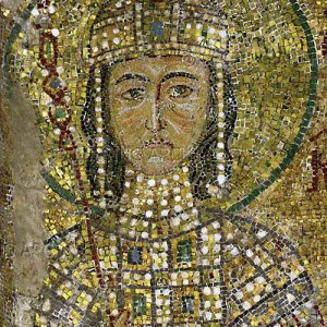 Mosaic of a young Alexius Comnenus, at the Hagia Sophia.jpg
