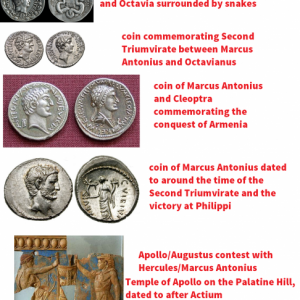 Coins of Marcus Antonius