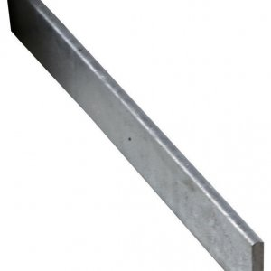 Threshold Water Bar Galvanised 30mm × 5mm 1m