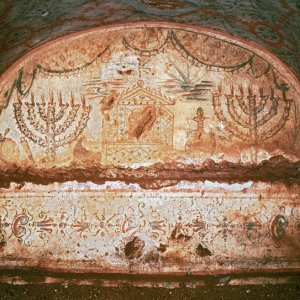 Menorahs and the Ark of the Covenant
