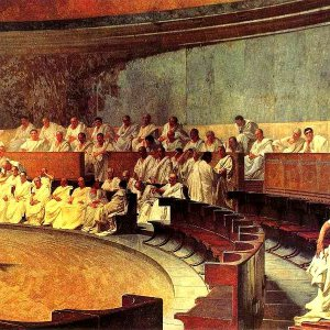 Marcus Tullius Cicero and the Roman Senate